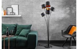 Designer Stehleuchte LEVELTY BLACK-GOLD 178 cm-NATIVO™ Möbel Schweiz