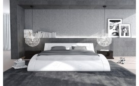 Designer Lederbett ODYSSEY mit Beleuchtung by ©iconX STUDIOS