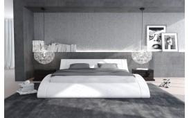 Lit tapissé ODYSSEY  avec éclairage by ©iconX STUDIOS