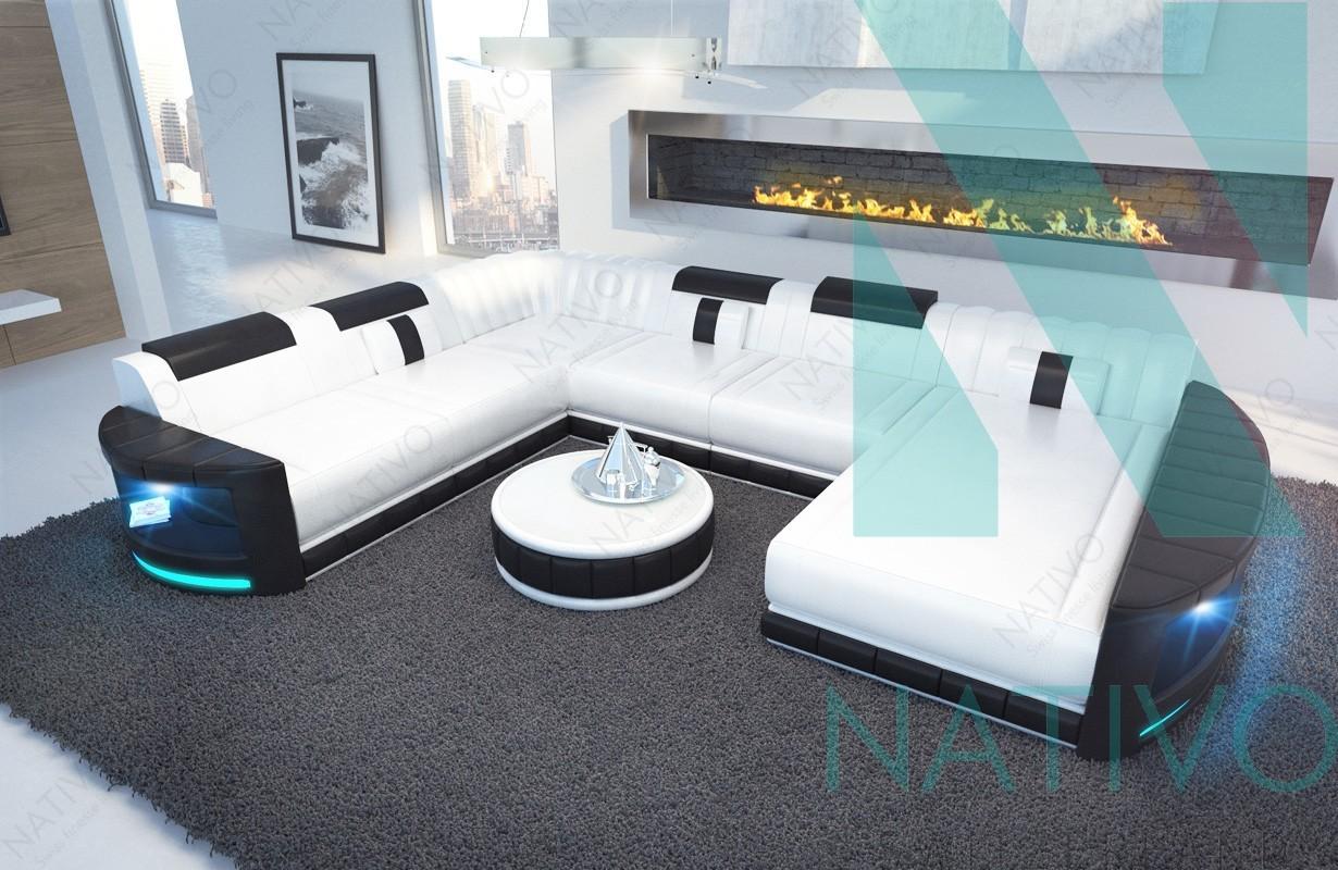 Divano modulare atlantis xxl nativo mobili svizzera
