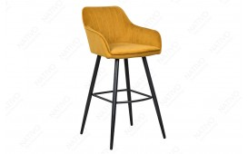 2 x Tabouret de bar PIEMONT YELLOW