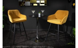 Tabouret de bar RIFLE DARK GREY