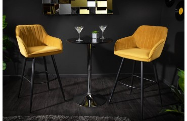 2 x Designer Barhocker PIEMONT YELLOW-NATIVO™ Möbel Schweiz