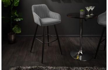 2 x Designer Barhocker PIEMONT GREY-NATIVO™ Möbel Schweiz
