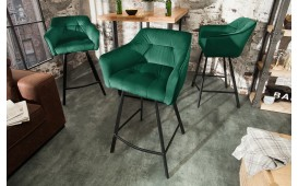 Tabouret de bar RIFLE GREEN