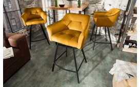 Tabouret de bar RIFLE YELLOW