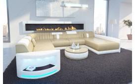 Designer Sofa ATLANTIS XXL mit LED Beleuchtung