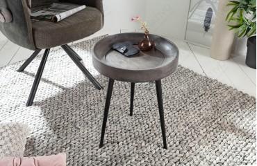 Tavolino d'appoggio di design ESSENCE GREY-NATIVO™ Möbel Schweiz