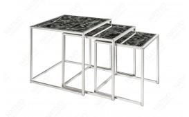 Table d'appoint Design UNITY GLASS BLACK 3-NATIVO™ Möbel Schweiz
