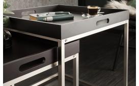 Tavolino d'appoggio di design UNITY BLACK SET 2-NATIVO™ Möbel Schweiz