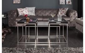 Table basse Design UNITY BLACK SET 3-NATIVO™ Möbel Schweiz