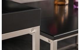 Designer Couchtisch UNITY BLACK SET 3-NATIVO™ Möbel Schweiz