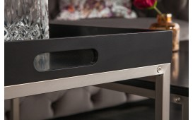Tavolino di design UNITY BLACK SET 3-NATIVO™ Möbel Schweiz
