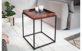 Table d'appoint Design UNITY MOCHA 40cm
