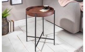 Table d'appoint Design UNITY MOCHA 43cm