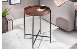 Tavolino d'appoggio di design UNITY MOCHA 43cm