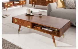 Designer Couchtisch ARABIC HONEY 117cm-NATIVO™ Möbel Schweiz