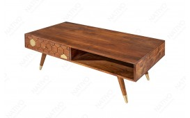 Table basse Design ARABIC HONEY 117cm-NATIVO™ Möbel Schweiz