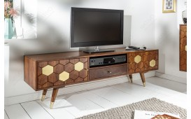 Meuble TV Design ARABIC HONEY 140 cm-NATIVO™ Möbel Schweiz