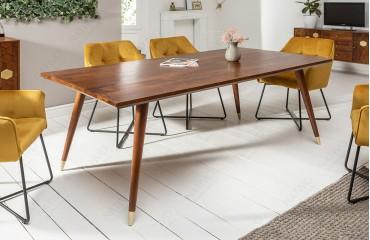Table Design ARABIC HONEY 160cm-NATIVO™ Möbel Schweiz