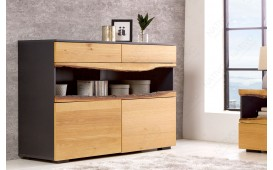 Credenza di design WOOD GREY 120 cm