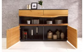 Buffet Design WOOD GREY 120cm-NATIVO™ Möbel Schweiz