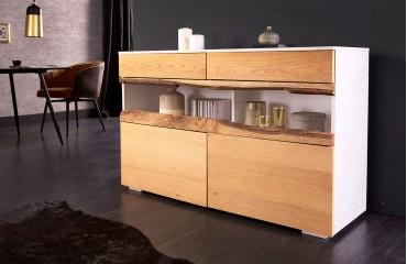 Designer Sideboard WOOD WHITE 120 cm-NATIVO™ Möbel Schweiz