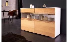 Designer Sideboard WOOD WHITE 120 cm