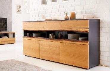 Designer Sideboard WOOD GREY 180 cm-NATIVO™ Möbel Schweiz