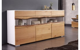 Buffet Design WOOD WHITE 180 cm-NATIVO™ Möbel Schweiz