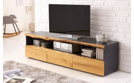 Meuble TV Design WOOD GREY 180 cm-NATIVO™ Möbel Schweiz