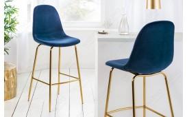 2 x Designer Barhocker SCIANA BLUE