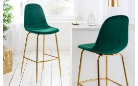 2 x Tabouret de bar SCIANA GREEN