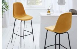 2 x Designer Barhocker SCIANA YELLOW