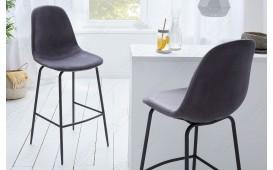 2 x Designer Barhocker SCIANA GRAY
