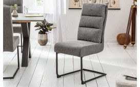 2 x Chaise Design VENTO DARK