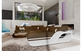 Designer Sofa ROYAL XXL mit LED Beleuchtung & USB Anschluss-NATIVO™ Möbel Schweiz