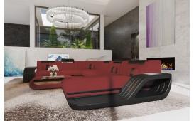 Canapé Design ROYAL XXL avec éclairage LED & un port USB-NATIVO™ Möbel Schweiz