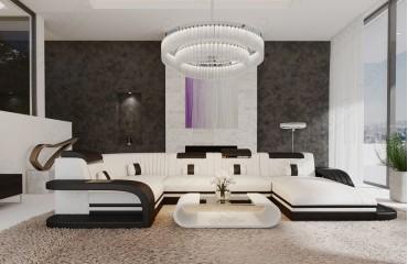 Designer Sofa ROYAL XL mit LED Beleuchtung & USB Anschluss-NATIVO™ Möbel Schweiz