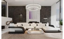Designer Sofa ROYAL XL mit LED Beleuchtung & USB Anschluss