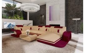 Canapé Design ROYAL XL avec éclairage LED et port USB-NATIVO™ Möbel Schweiz