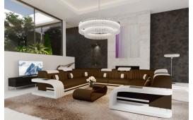 Canapé design ROYAL CORNER U FORM avec éclairage LED et port USB-NATIVO™ Möbel Schweiz