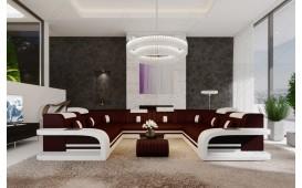 Divano di design ROYAL CORNER U FORM con illuminazione a LED  e presa USB-NATIVO™ Möbel Schweiz