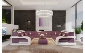 Designer Sofa ROYAL CORNER U FORM mit LED Beleuchtung & USB Anschluss-NATIVO™ Möbel Schweiz