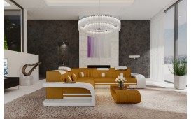 Divano di design ROYAL CORNER con illuminazione a LED  e presa USB-NATIVO™ Möbel Schweiz