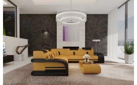 Designer Sofa ROYAL CORNER mit LED Beleuchtung & USB Anschluss-NATIVO™ Möbel Schweiz