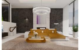 Designer Sofa ROYAL MINI mit LED Beleuchtung & USB Anschluss