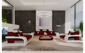 Canapé Design ROYAL 3+2+1 avec éclairage LED et port USB-NATIVO™ Möbel Schweiz