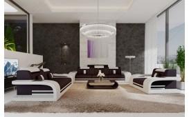Designer Sofa ROYAL 3+2+1 mit LED Beleuchtung & USB Anschluss-NATIVO™ Möbel Schweiz