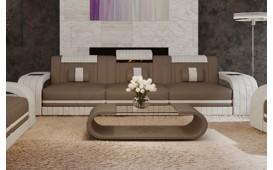3 Sitzer Sofa ROYAL mit LED Beleuchtung & USB Anschluss
